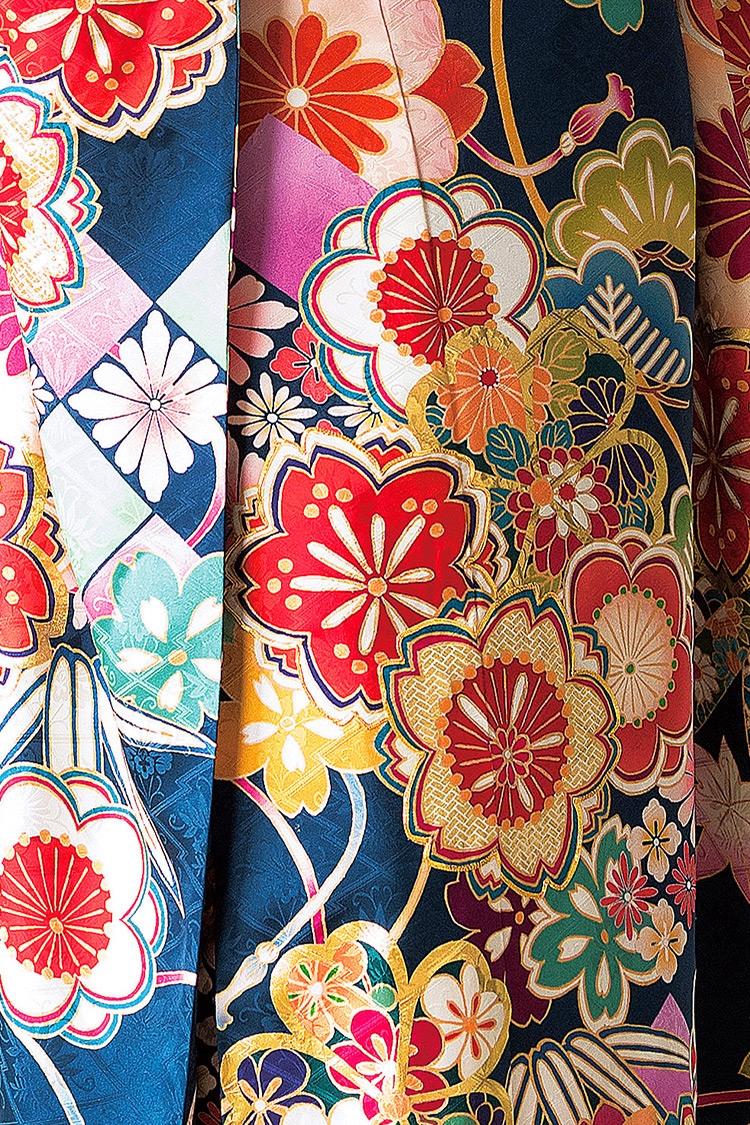 定番の松竹梅の図柄も、とても丁寧に描かれて素敵です。
